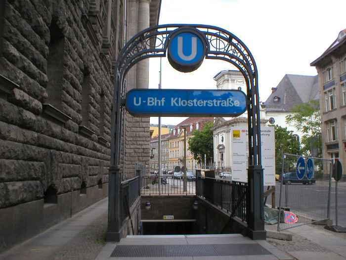 U-Bahnhof Klosterstraße (U2)