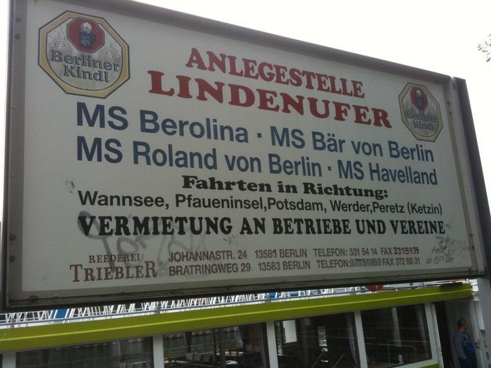 Anlegestelle Lindenufer