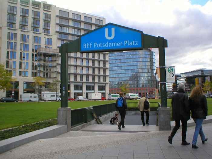 U-Bahnhof Potsdamer Platz (U2)