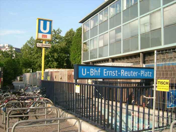 U-Bahnhof Ernst-Reuter-Platz (U2)