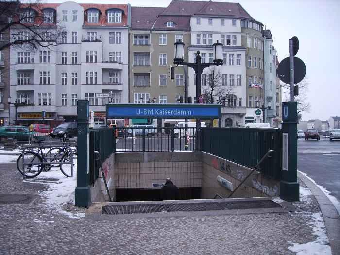 U-Bahnhof Kaiserdamm (U2)