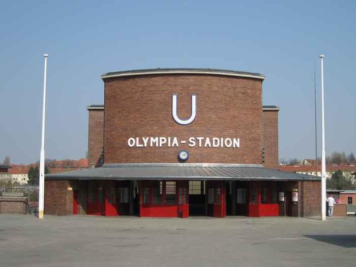 U-Bahnhof Olympia-Stadion (U2)