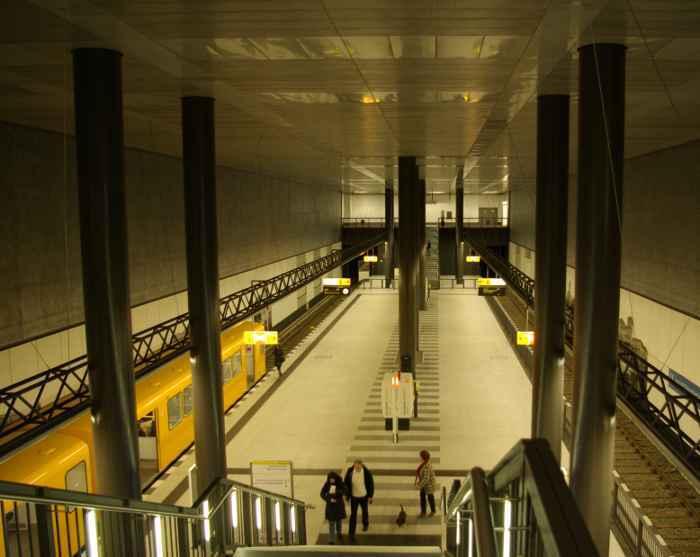 U-Bahnhof Hauptbahnhof (U55)
