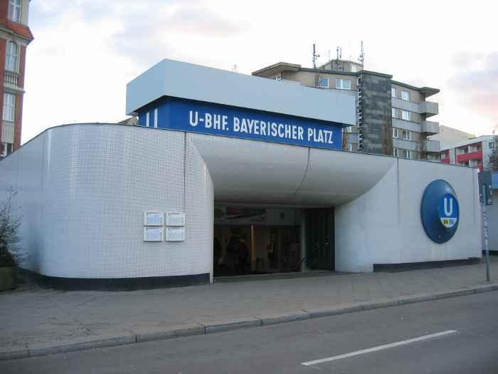 U-Bahnhof Bayerischer Platz (U4, U7)
