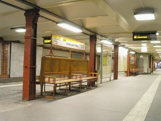 U-Bahnhof  Innsbrucker Platz (U4)