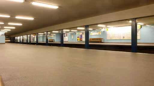 U-Bahnhof Spichernstraße (U3)