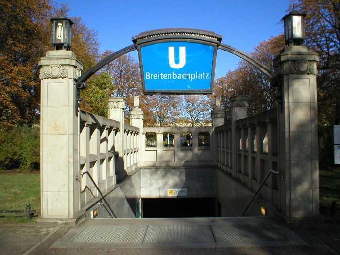 U-Bahnhof Breitenbachplatz (U3)
