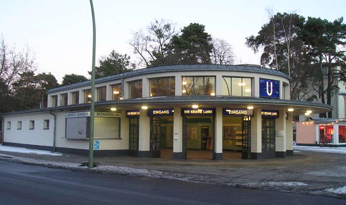 U-Bahnhof Krumme Lanke (U3)