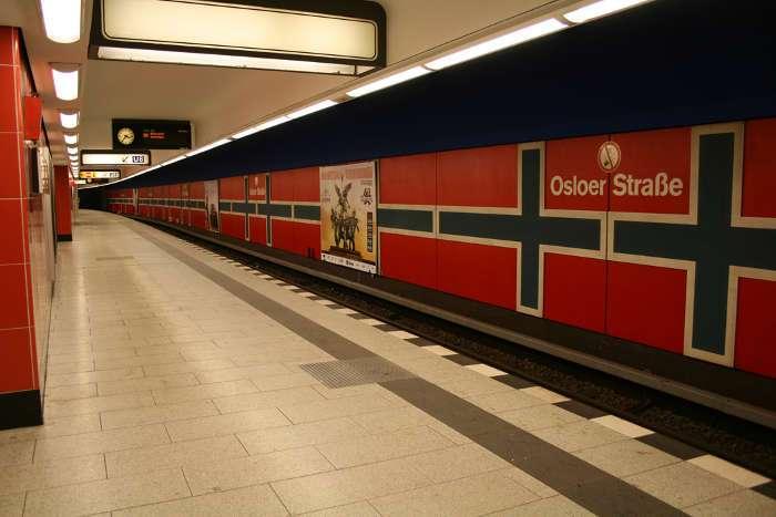 U-Bahnhof Osloer Straße (U8, U9)