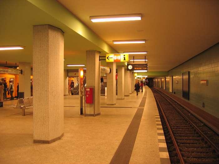 U-Bahnhof Leopoldplatz (U6, U9)