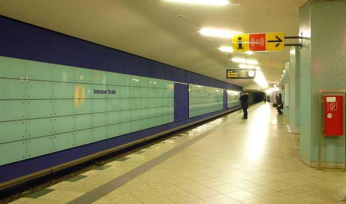 U-Bahnhof Amrumer Straße (U9)