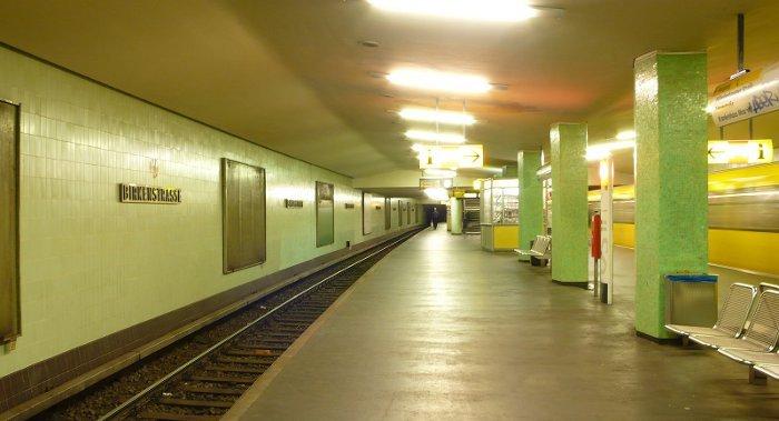 U-Bahnhof Birkenstraße (U9)