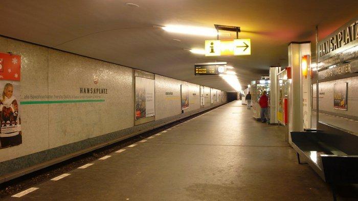 U-Bahnhof Hansaplatz (U9)