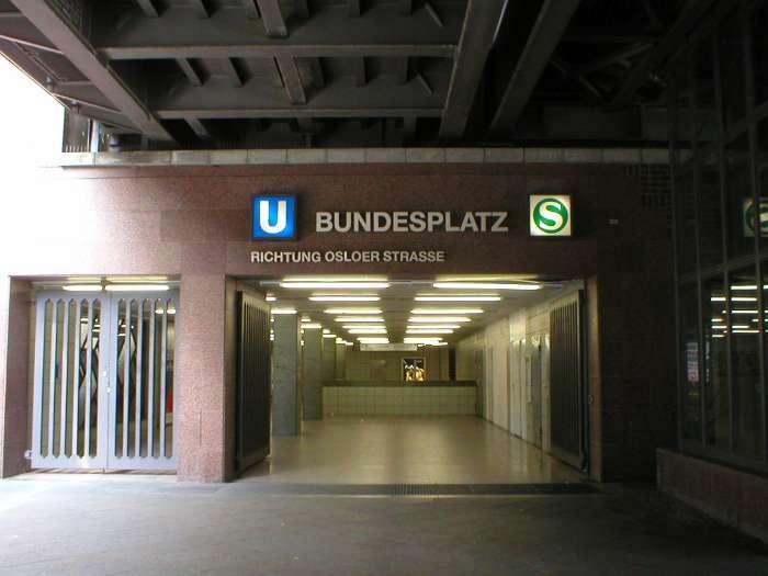 U-Bahnhof Bundesplatz (U9)