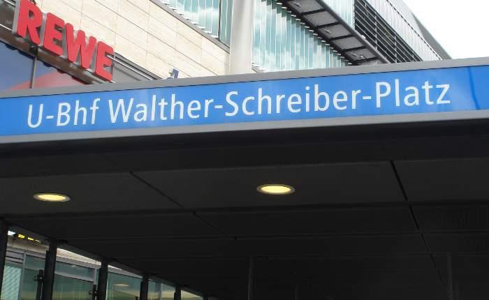 U-Bahnhof Walther-Schreiber-Platz (U9)