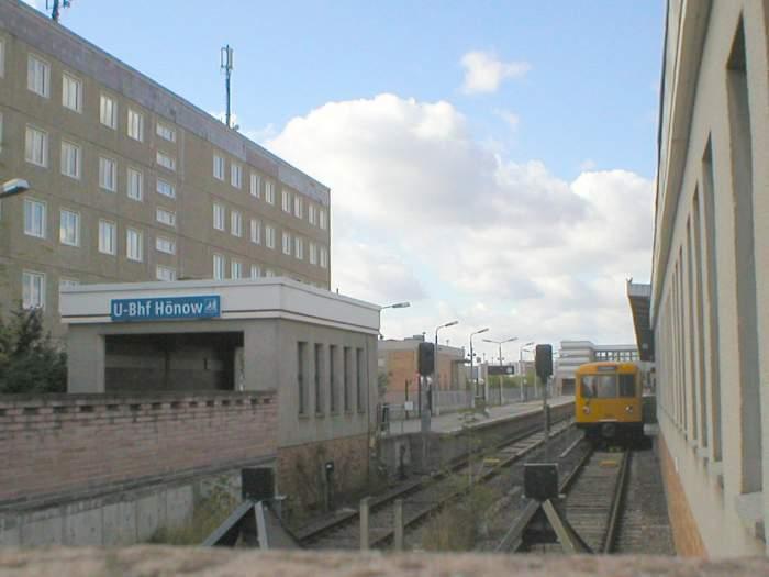 U-Bahnhof Hönow (U5)