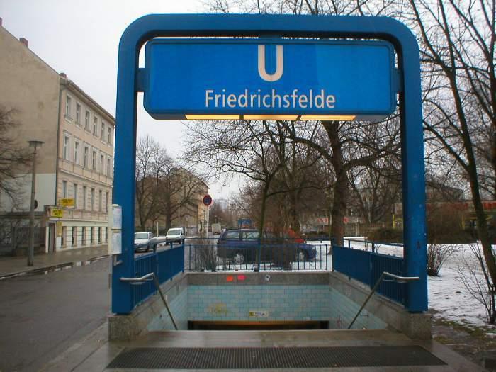 U-Bahnhof Friedrichsfelde (U5)