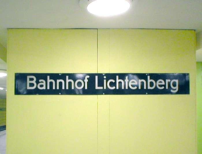 U-Bahnhof Lichtenberg (U5)