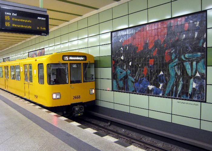 U-Bahnhof Magdalenenstraße (U5)