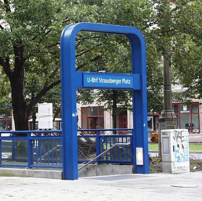 U-Bahnhof Strausberger Platz (U5)