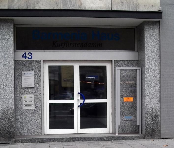 Barmenia Versicherungen Bezirksdirektion Berlin I am Kurfürstendamm