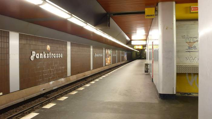 U-Bahnhof Pankstraße (U8)