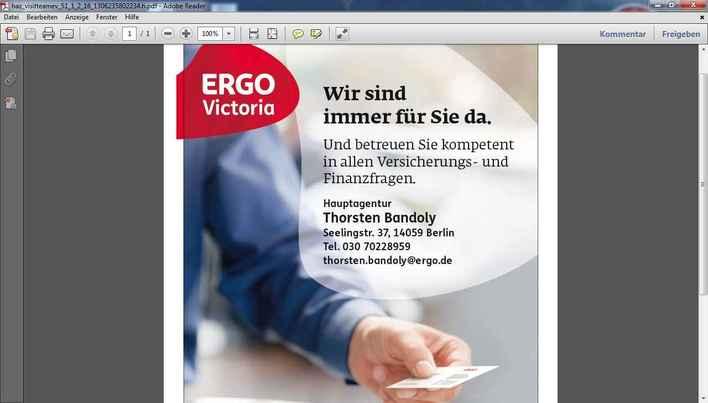 Thorsten Bandoly - Hauptagentur der ERGO Victoria Versicherung