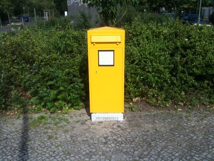 Briefkasten in der Preußenallee
