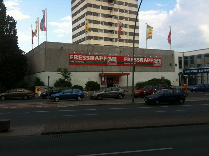 Fressnapf-Filiale in Berlin-Spandau