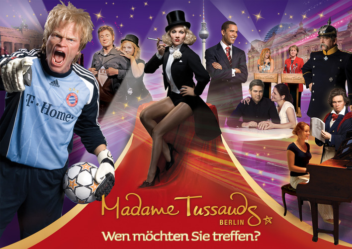 Madame Tussauds in Berlin