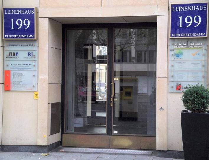 Die Kurt Lohmüller Immobilien GmbH am Kurfürstendamm
