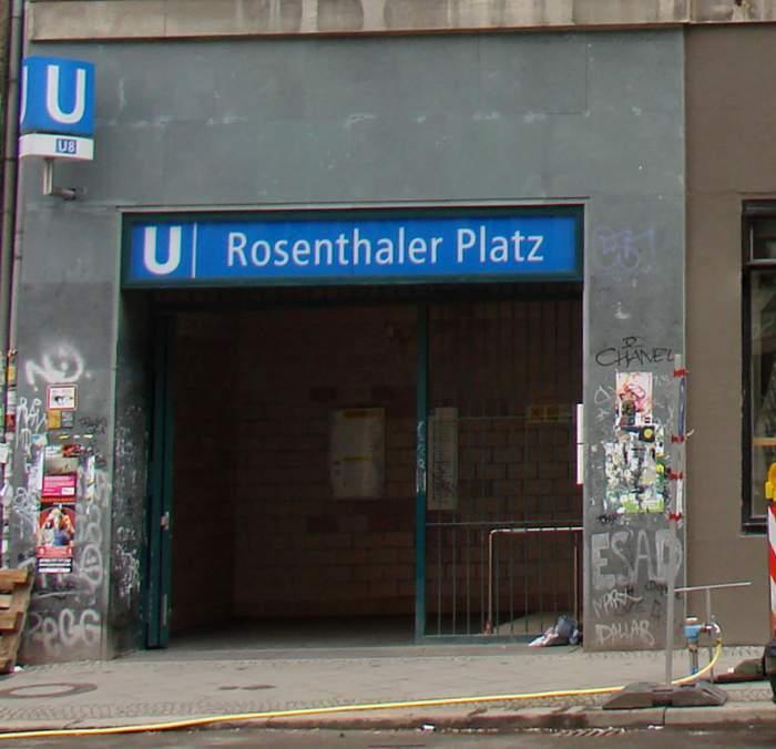 U-Bahnhof Rosenthaler Platz (U8)