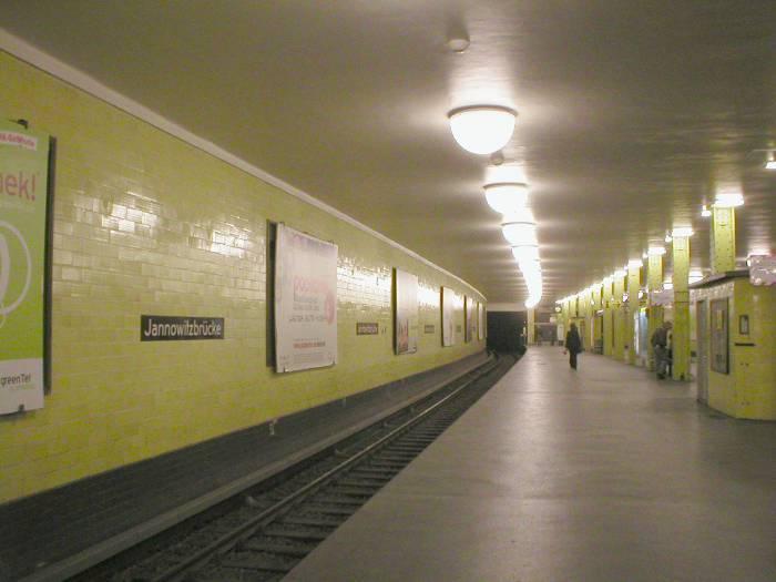 U-Bahnhof Jannowitzbrücke (U8)
