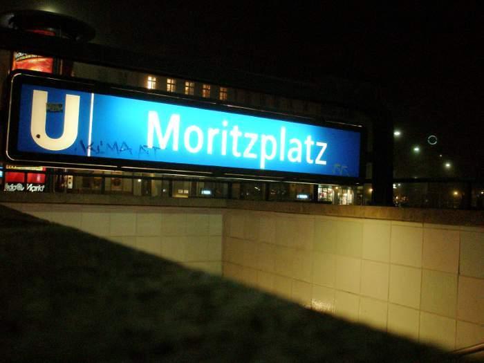 U-Bahnhof Moritzplatz (U8)