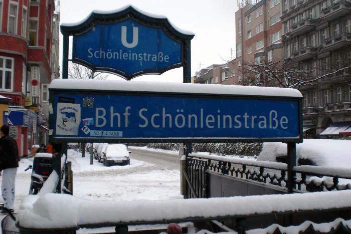 U-Bahnhof Schönleinstraße (U8)