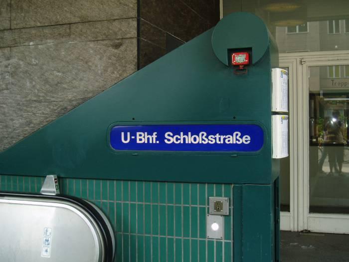 U-Bahnhof Schloßstraße (U9)