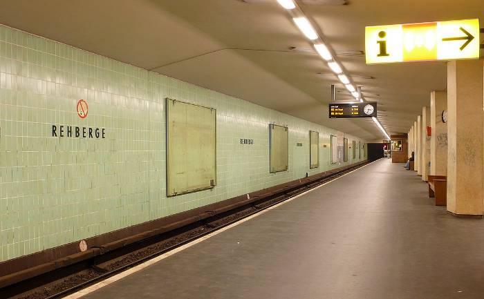 U-Bahnhof Rehberge (U6)