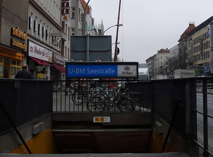 U-Bahnhof Seestraße (U6)