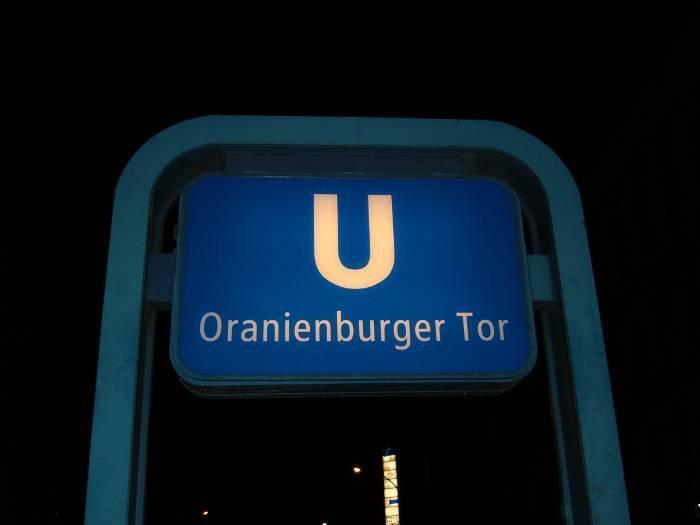 U-Bahnhof Oranienburger Tor (U6)