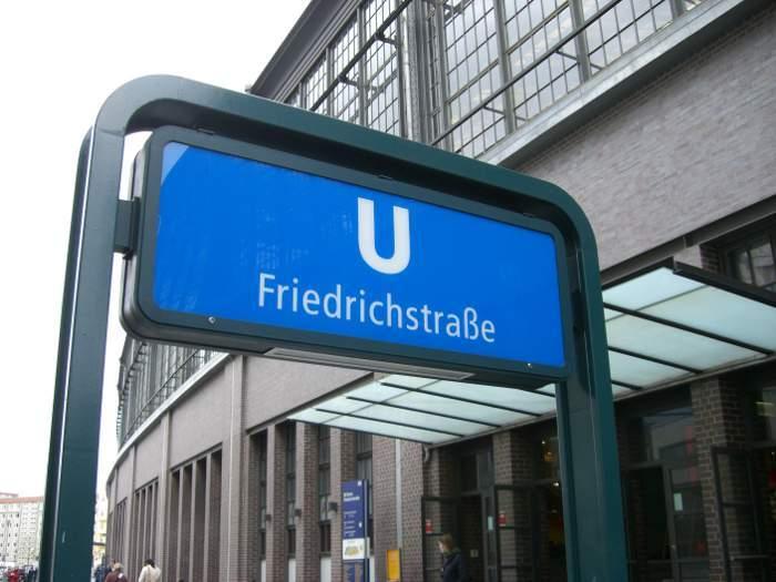 U-Bahnhof Friedrichstraße (U6)