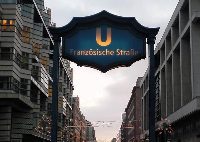 U-Bahnhof Französische Straße (U6)