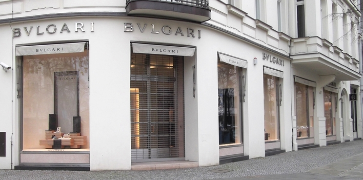 Bulgari Store am Kurfürstendamm