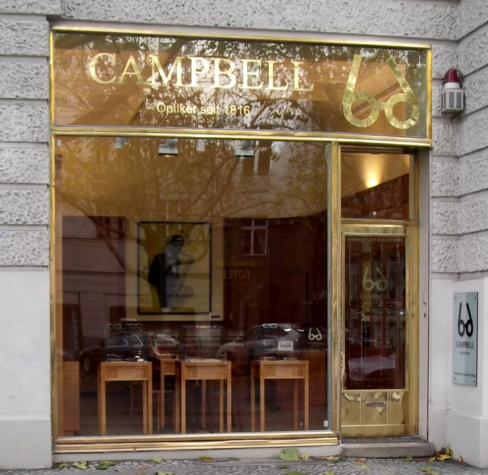 Campbell am Kurfürstendamm