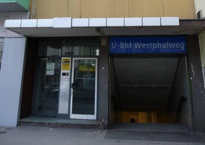 U-Bahnhof Westphalweg (U6)