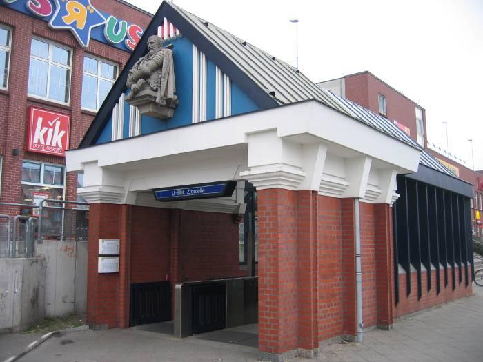 U-Bahnhof Zitadelle (U7)