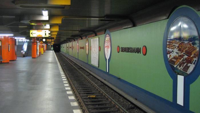 U-Bahnhof Siemensdamm (U7)
