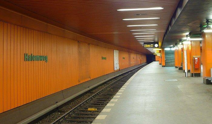 U-Bahnhof Halemweg (U7)