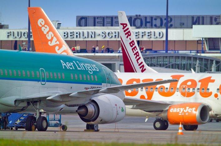 Dichtes Streckennetz: Mit zahlreichen Airlines aus dem Low-Cost- und Charter-Segment bietet der Airport Schönefeld seinen Kunden ein breites Flugangebot.