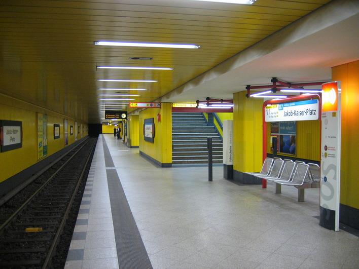 U-Bahnhof Jakob-Kaiser-Platz (U7)