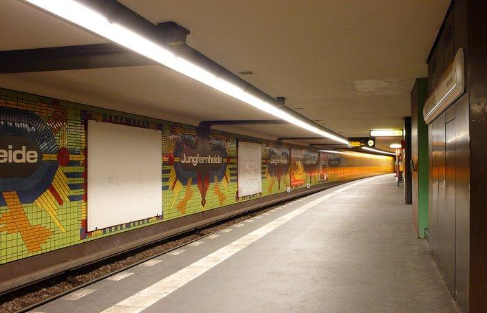 U-Bahnhof Jungfernheide (U7)